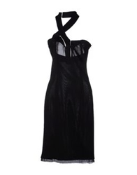 Sophia Kokosalaki Knee Length Dresses Black