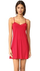 Calvin Klein Underwear Signature Chemise Regal Red