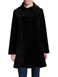 Jane Post Velvet Reversible Jacket Black