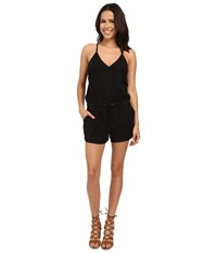 Blank Nyc Short Romper Black Women's Jumpsuit And Rompers One Piece