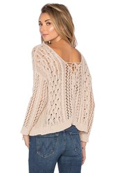 Heartloom Melia Sweater Beige
