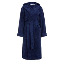 House By John Lewis Supersoft Bath Robe Navy