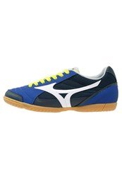 Mizuno Sala Club 2 In Indoor Football Boots Surf The Web White Dress Blues