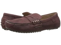 Polo Ralph Lauren Wes Port Waxy Pull Up Men's Slip On Shoes Brown