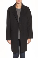 Kate Spade Women's New York Double Face Wool Blend Coat