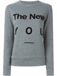 Wood Wood 'Maya' Sweatshirt Grey