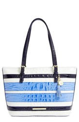 Brahmin 'Medium Asher' Croc Embossed Tote