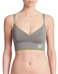 Dkny Energy Sports Bra Grey