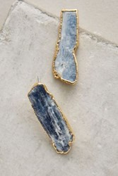 Anthropologie Azure Icicle Studs Blue