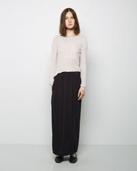 Raquel Allegra Long Skirt Black
