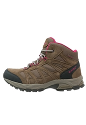 Hi Tec Hitec Alto Mid Wp Walking Boots Dune Pink Light Brown