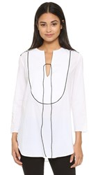 Theory Jalinne Blouse White