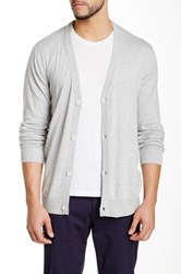 Wesc Long Sleeve Cardigan Gray