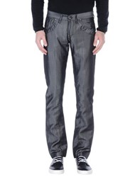 Take Two Denim Denim Trousers Men Grey