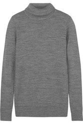 Raoul Turtleneck Wool Sweater Gray