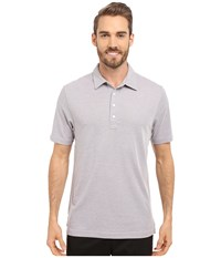 Travis Mathew Crenshaw S S Polo Heather Grey Men's Short Sleeve Knit Gray