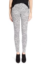Women's Hue 'Super Smooth Cheetah' Leggings Star White
