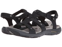 Merrell Adhera Three Strap Ii Black Women's Sandals