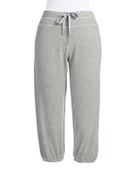 Calvin Klein Striped Sweatpants Alabaster Charcoal