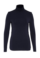 Hallhuber Turtleneck Shirt Portland Blue