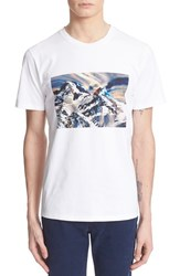 Men's A.P.C. 'Montagne' Graphic Short Sleeve Cotton T Shirt
