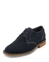 Penguin Waylon Lace Up Leather Oxford Navy