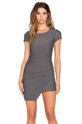 Rise Meet You There Dress Gray
