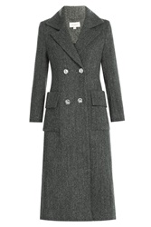 Isa Arfen Wool Coat Grey