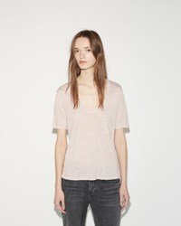 Alexander Wang Cropped Tee Blush