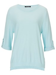 Betty Barclay Cotton Blend Waffled Top Light Mint