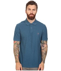Original Penguin Daddy O Polo Ink Blue Men's Short Sleeve Pullover