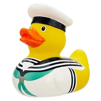John Lewis Sailor Bathtime Rubber Duck