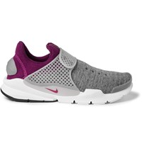 Nike Sock Dart Tech Fleece Sneakers Gray