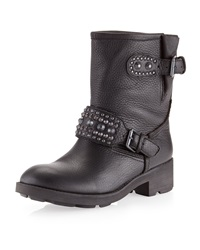 Ash Rebel Motorcycle Boot Black