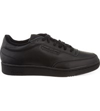 Sandro Classic Leather Trainers Black