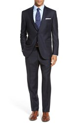 Peter Millar Men's 'Flynn' Classic Fit Plaid Wool Suit