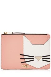 Karl Lagerfeld Robot Choupette Pouch Rose