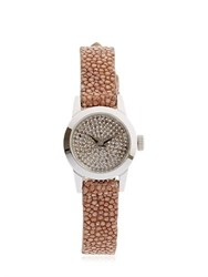 Christian Koban Cute Brown Diamonds And Stingray Watch