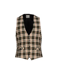 Obvious Basic By Paolo Pecora Vests Beige