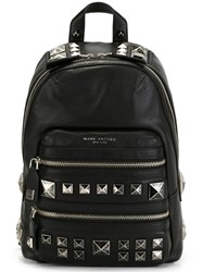 Marc Jacobs 'Recruit Chipped Studs' Backpack Black