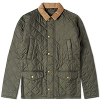 Barbour Canterdale Quilt Jacket Green