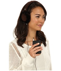 Ugg Classic Earmuff With Speaker Technology Chocolate Cold Weather Hats Brown