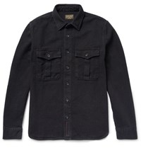 Jean Shop Hop Barry Denim Hirt Black
