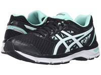 Asics Gel Excite 4 Black White Mint Women's Running Shoes
