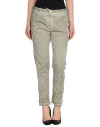 Twin Set Jeans Casual Pants Military Green