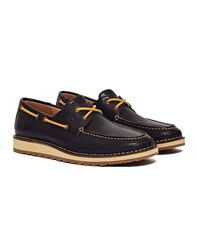 Sperry Dockyard 2 Eye Boat Shoe Dark Brown