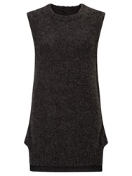 Numph Vespera Sleeveless Jumper Grey