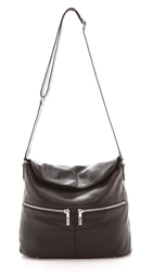 Elizabeth And James James Cross Body Hobo Bag Black