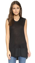 Rag And Bone Riley Top Black