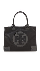 Tory Burch Nylon Ella Tote Black